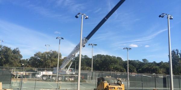 Fort King Tennis Court Lighting Ocala 01