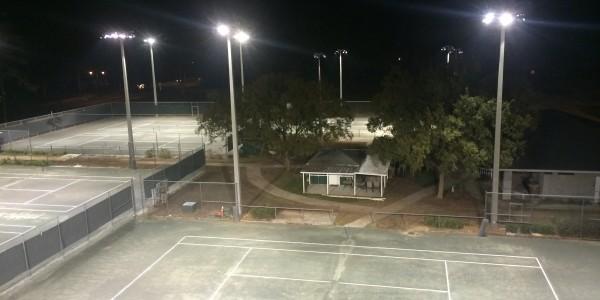 Fort King Tennis Court Lighting Ocala 06