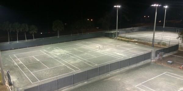 Fort King Tennis Court Lighting Ocala 05