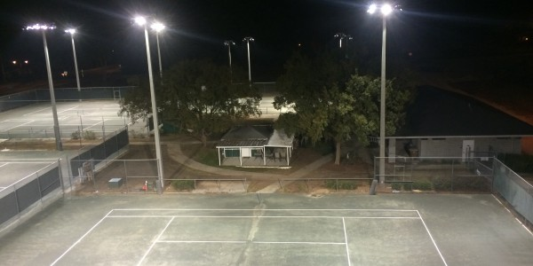 Fort King Tennis Court Lighting Ocala 04