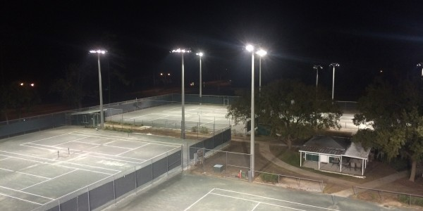Fort King Tennis Court Lighting Ocala 03