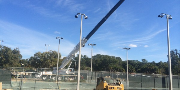 Fort King Tennis Court Lighting Ocala 01